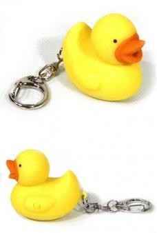 Rubber Duckie Keychain Glow