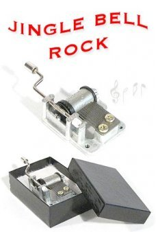 Jingle Bell Rock Music Box 1957