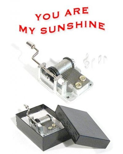 You Are My Sunshine Metal Music Box 1939
