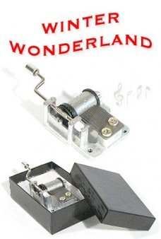 A Winter Wonderland Music Box 1934