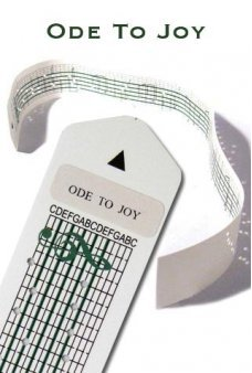 Ode To Joy Paper Strip for Music Box Kit