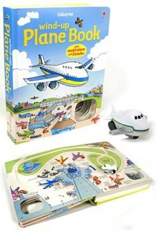 Wind Up Plane Interactive Book