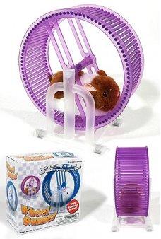 Pet Hamster Wheel Runner Purple