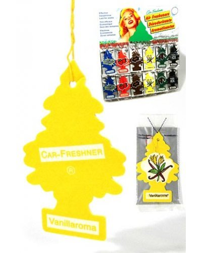 Vanillaroma Car Freshener Little Tree