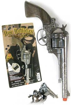 Doc Holliday Replica Revolver 12 Shot  Ring Cap Gun