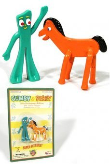 Gumby and Pokey Retro 50th Mini