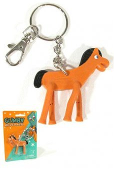 Pokey Keychain the Original Clay Horse