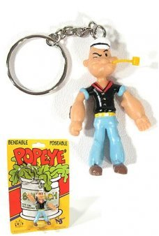 Popeye the Sailor Man Keychain 1929