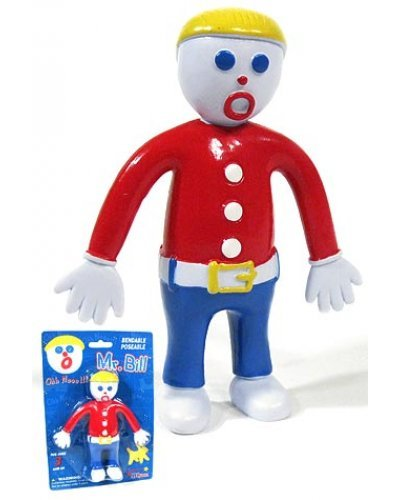 Oh No Mr Bill Flexible Figure SNL 1975