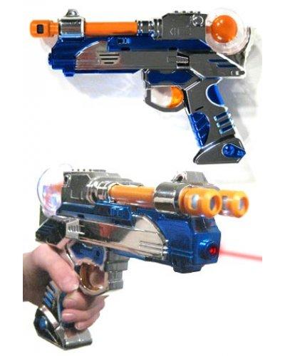 Double Barrel Space Laser Ray Gun