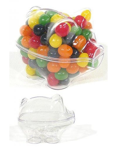 Piggy Bank Clear Candy Box