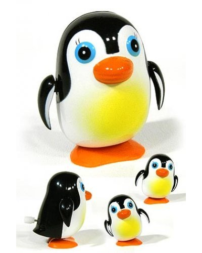 Polly Penguin Waddling Wind Up