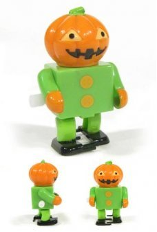 Jack the Pumpkin Head Robot Wind Up