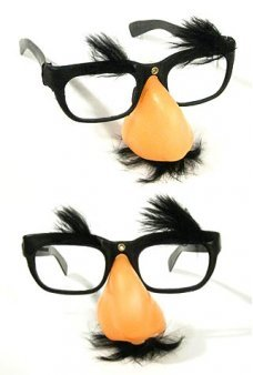 Groucho Marx Funny Nose Glasses Mustache