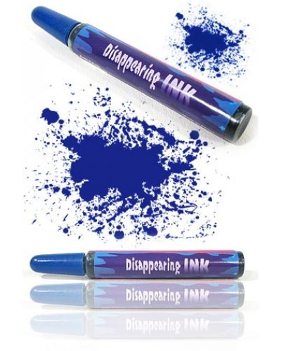Disappearing Blue Ink Pen Toy Joke Prank
