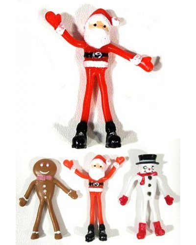 Santa and Friends Flexible Figures