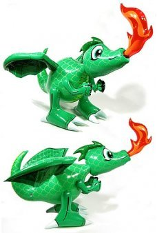 Draco Fire Breathing Dragon 28 inch