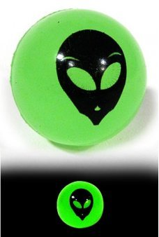Alien Glowing Bouncing Ball 1947