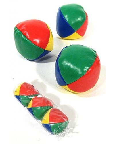 Classic Juggling Balls Circus Set of 3