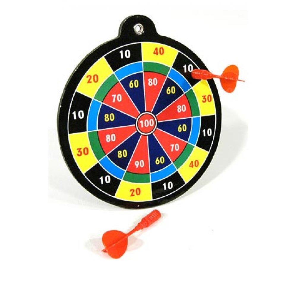 Dart Board Game Mini Magnetic Target Retro English Pub Sport