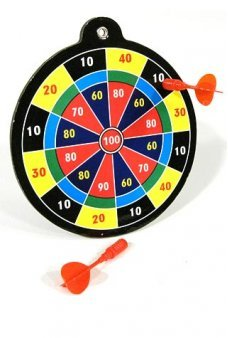 Dart Board Game Mini Magnetic Target