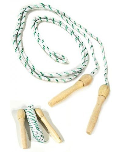 Wood Handle Jump Rope Classic Toy