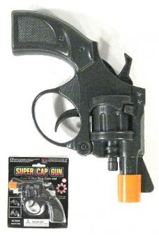 Secret Agent 8 Shot Plastic Ring Cap Gun Toy