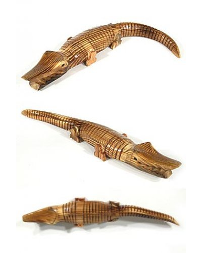 Alligator Wooden Wiggling Crocodile