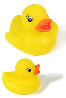 Rubber Ducky Yellow Mini Bath Toy