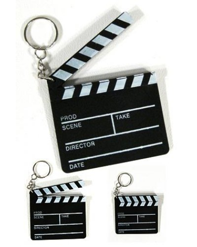 Hollywood Movie Clapboard Keychain