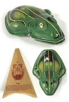 Bull Frog Clicker Tin Toy