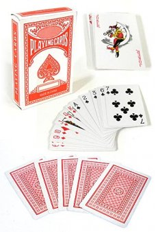 Wild West Playing Cards Classic Red