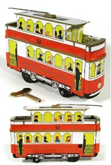 Hong Kong Tramcar Ltd Tin Toy 1904