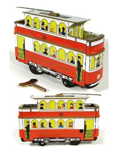 Hong Kong Tramcar Ltd Tin Toy 1904