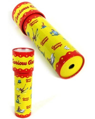 Curious George Tin Toy Kaleidoscope