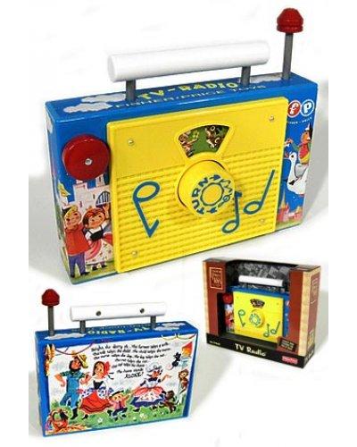 TV Radio Musical Classic Toy 1959