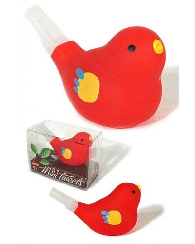 Mini Tweet Whistle Red Bird Classic