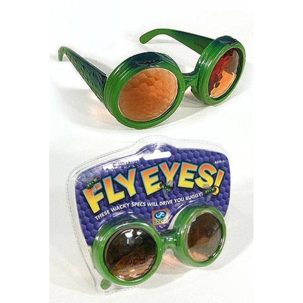da1673ed79d Fly Eyes Glasses   Bug Specs   Golden Prism Vision