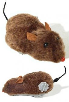 Fuzzy Soft Brown Mouse Wind Up