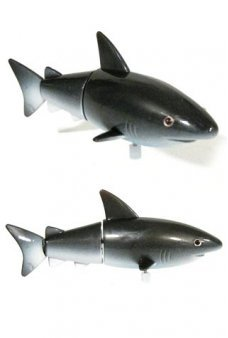 Shakespeare the Shark Dark Grey