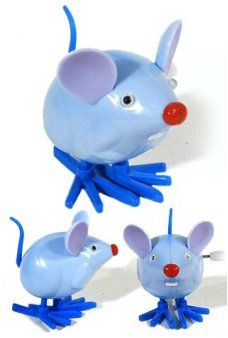 Monty the Mouse Panic Attack Wind Up