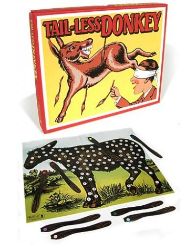 Tail Less Donkey Vintage Game UK