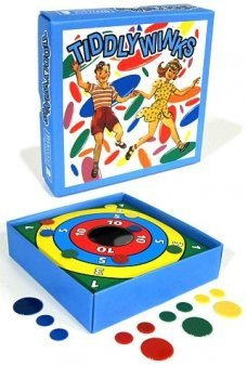 Tiddly Winks Target Classic Game 1950 UK