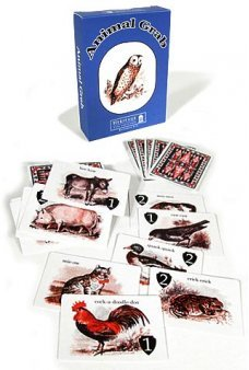 Animal Grab Victorian Card Game UK