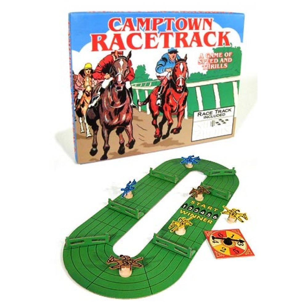 Camptown Racestrack Horce Race Board Game American Classic Games