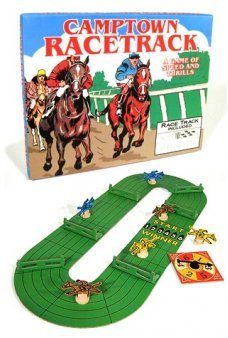 Horse Race Camptown Racetrack Game