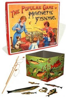 Magnetic Fishing Victorian Game 1890