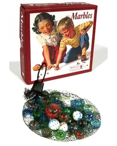 Marbles Nostalgic Set Glass UK 1950