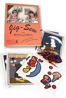 Jig Sew Classic Childrens Craft 1930