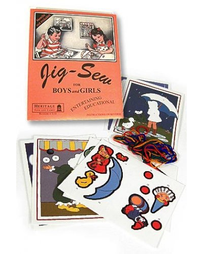 Jig Sew Classic Childrens Craft 1930